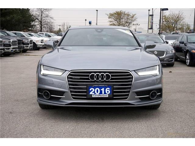 2016 Audi A7 3.0T| TECHNIK| S-LINE| AUDI SIDE ASSIST & MORE (Stk: P3117) in Burlington - Image 2 of 30