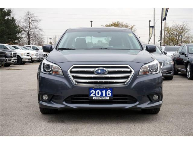 2016 Subaru Legacy 2.5i TOURING| AWD| BLINDSPOT MONITOR| SUNROOF (Stk: P3131) in Burlington - Image 2 of 30