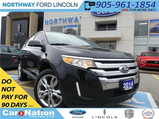 2014 Ford Edge LTD  NAV  HTD LEATHER   PANO ROOF   REAR CAM  AWD (Stk: F183870A) in Brantford - Image 1 of 24