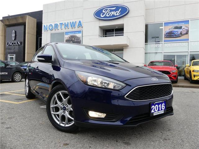 2016 Ford Focus SE | REAR CAMERA | REAR PARK SENSORS | LOW KM | (Stk: FC87343A) in Brantford - Image 2 of 20