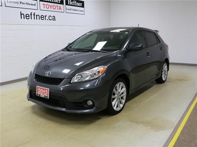 2012 Toyota Matrix XRS (Stk: 186281) in Kitchener - Image 1 of 25