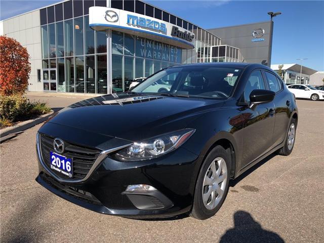2016 Mazda Mazda3 GX (Stk: P3367) in Oakville - Image 1 of 13
