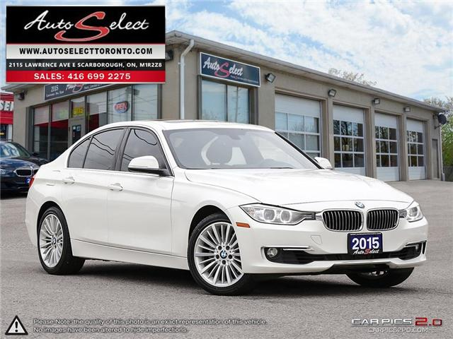 2015 BMW 328i xDrive (Stk: 1M3X9D1) in Scarborough - Image 1 of 28