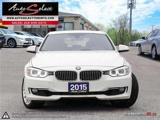 2015 BMW 328i xDrive (Stk: 1M3X9D1) in Scarborough - Image 2 of 28