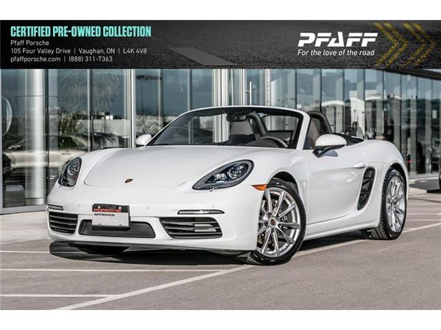 2018 Porsche 718 Boxster PDK (Stk: P12526) in Vaughan - Image 1 of 16