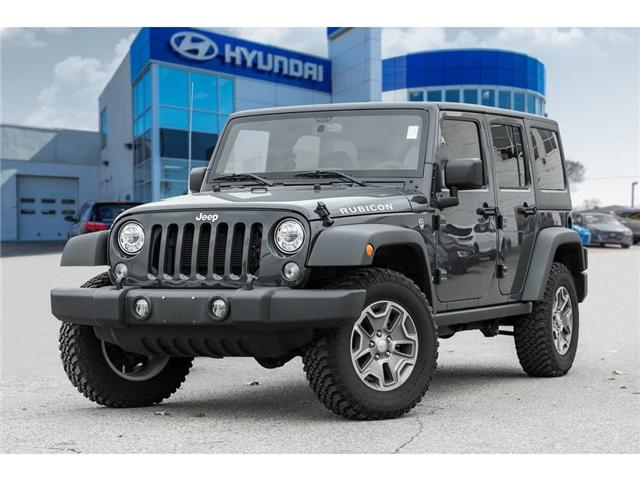 2018 Jeep Wrangler JK Unlimited Rubicon (Stk: H7575PR) in Mississauga - Image 1 of 20