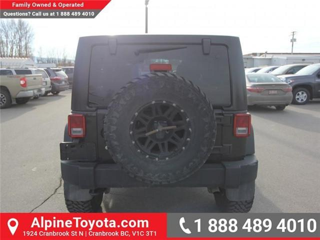 2016 Jeep Wrangler Unlimited Sport (Stk: X033494A) in Cranbrook - Image 4 of 16