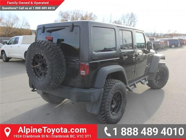 2016 Jeep Wrangler Unlimited Sport (Stk: X033494A) in Cranbrook - Image 5 of 16