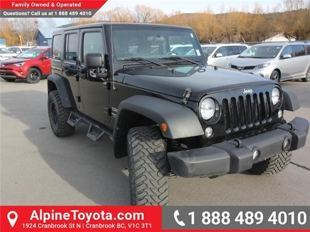 2016 Jeep Wrangler Unlimited Sport (Stk: X033494A) in Cranbrook - Image 7 of 16