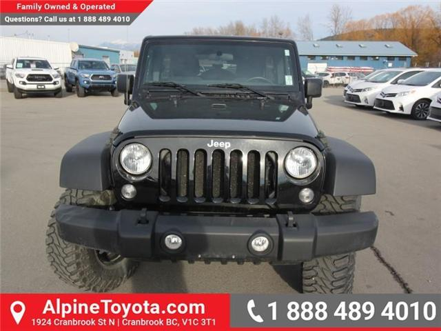 2016 Jeep Wrangler Unlimited Sport (Stk: X033494A) in Cranbrook - Image 8 of 16