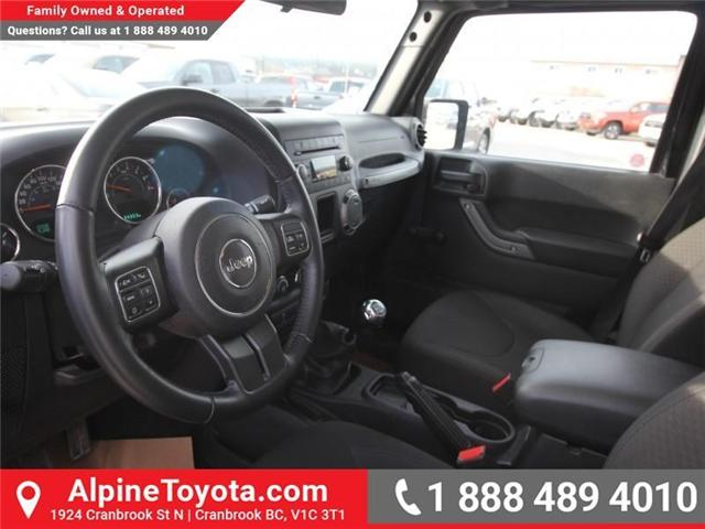 2016 Jeep Wrangler Unlimited Sport (Stk: X033494A) in Cranbrook - Image 9 of 16