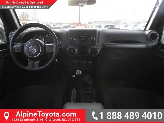2016 Jeep Wrangler Unlimited Sport (Stk: X033494A) in Cranbrook - Image 10 of 16