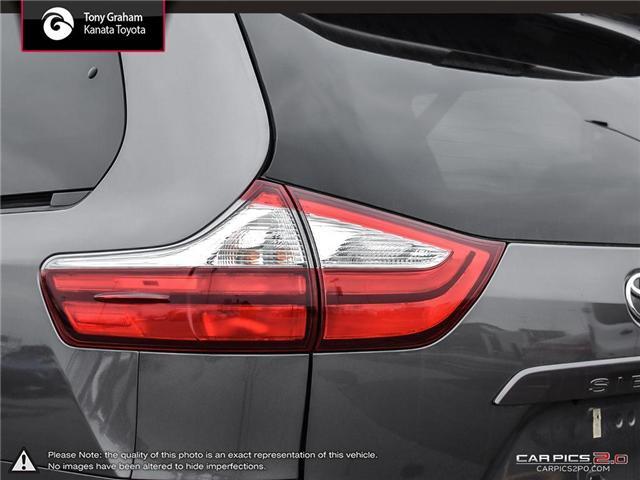 2018 Toyota Sienna LE 8-Passenger (Stk: B2824) in Ottawa - Image 12 of 26