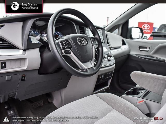 2018 Toyota Sienna LE 8-Passenger (Stk: B2824) in Ottawa - Image 13 of 26