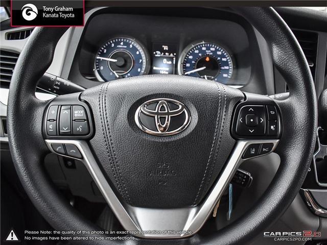 2018 Toyota Sienna LE 8-Passenger (Stk: B2824) in Ottawa - Image 14 of 26