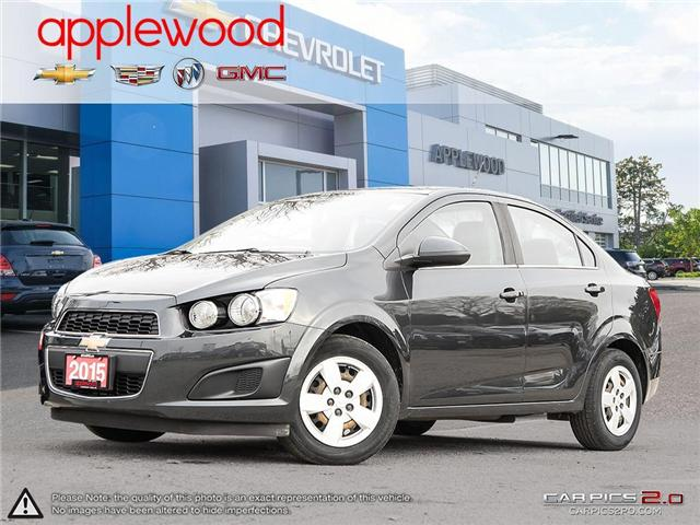 2015 Chevrolet Sonic LT Auto (Stk: 4710P) in Mississauga - Image 1 of 27