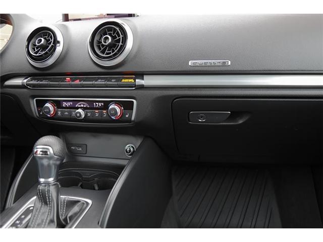 2018 Audi A3 2.0T Technik (Stk: 2A5817) in Kitchener - Image 14 of 22