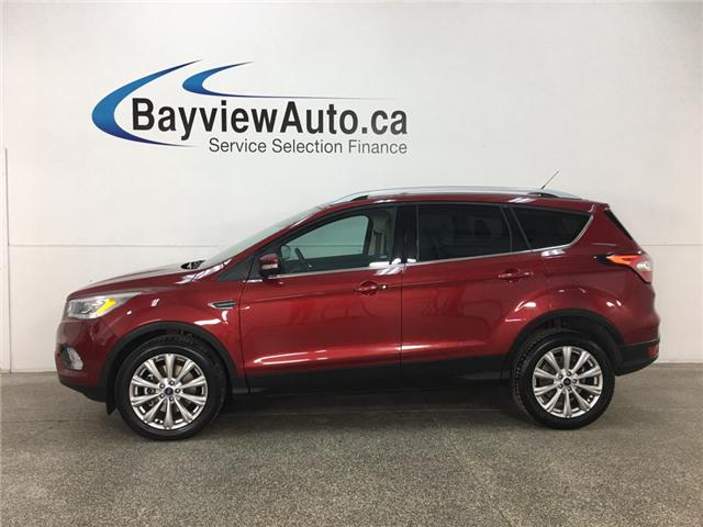 2017 Ford Escape Titanium (Stk: 33764J) in Belleville - Image 1 of 30