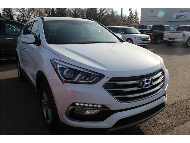 2018 Hyundai Santa Fe Sport 2.4 SE (Stk: 199338) in Brooks - Image 1 of 18