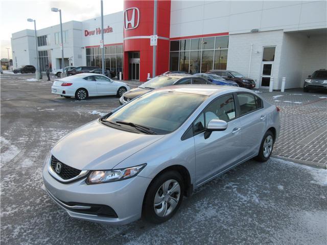 2014 Honda Civic LX (Stk: SS3244) in Ottawa - Image 1 of 9
