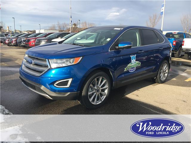 2018 Ford Edge Titanium (Stk: J-1714) in Calgary - Image 1 of 5