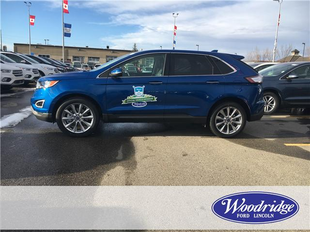 2018 Ford Edge Titanium (Stk: J-1714) in Calgary - Image 2 of 5