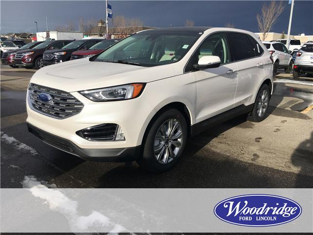 2019 Ford Edge Titanium (Stk: K-169) in Calgary - Image 1 of 5