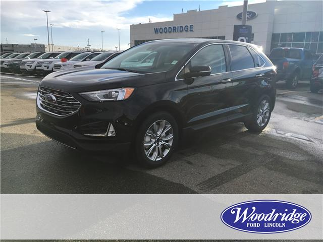 2019 Ford Edge Titanium (Stk: K-196) in Calgary - Image 1 of 5