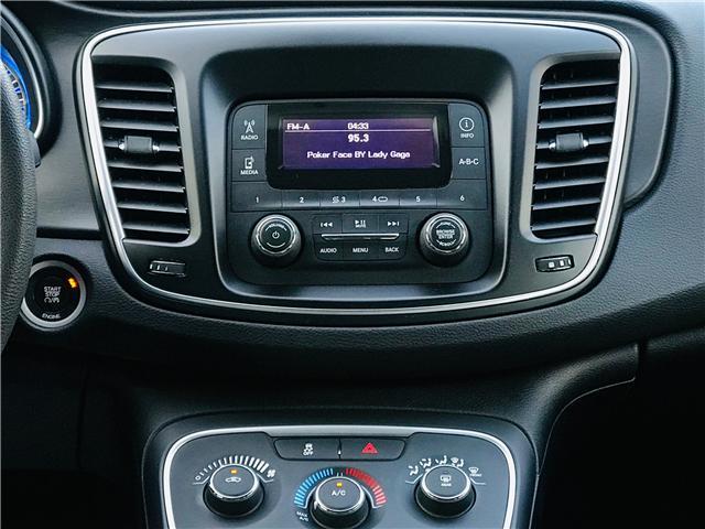 2016 Chrysler 200 LX (Stk: J864094B) in Surrey - Image 19 of 30