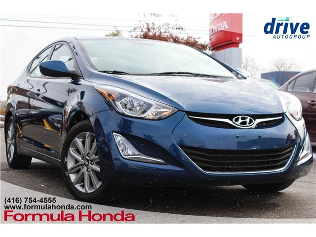 2016 Hyundai Elantra Sport Appearance (Stk: 18-1901B) in Scarborough - Image 1 of 22