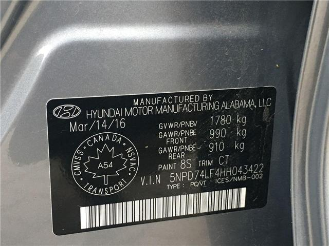 2017 Hyundai Elantra LE (Stk: H4223A) in Toronto - Image 27 of 27
