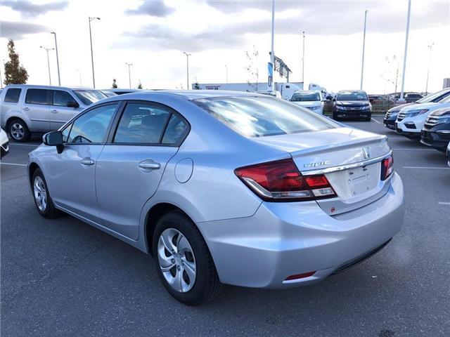 2015 Honda Civic LX (Stk: 66906) in Mississauga - Image 5 of 20