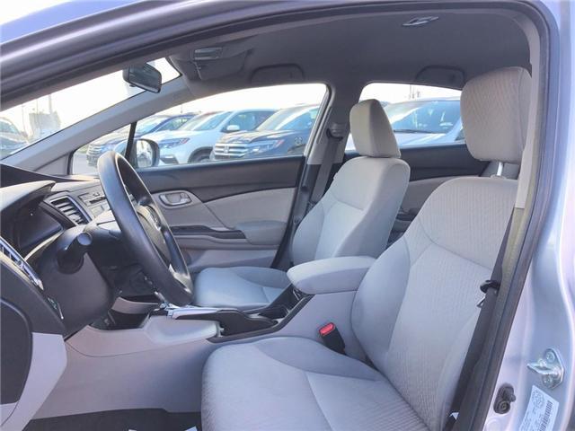 2015 Honda Civic LX (Stk: 66906) in Mississauga - Image 10 of 20