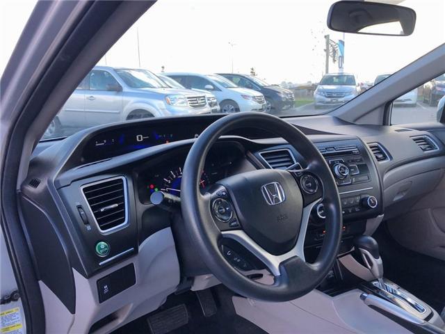 2015 Honda Civic LX (Stk: 66906) in Mississauga - Image 11 of 20