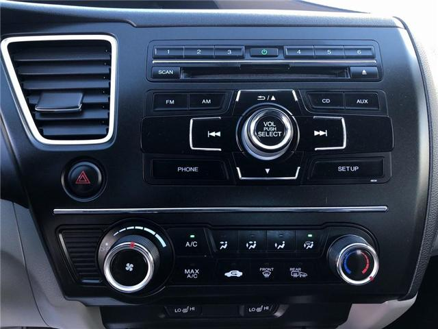 2015 Honda Civic LX (Stk: 66906) in Mississauga - Image 13 of 20