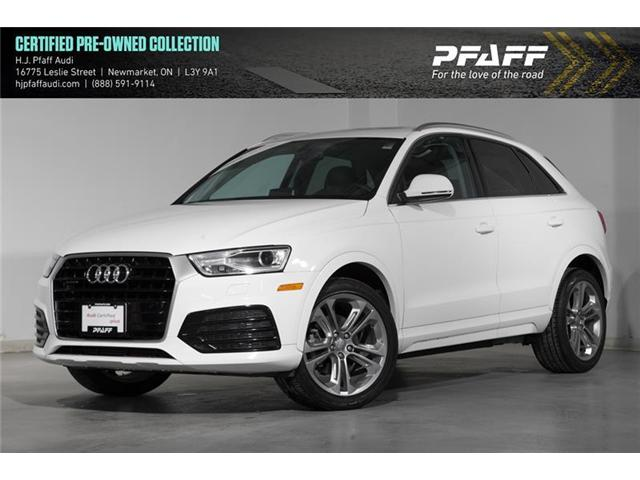 2018 Audi Q3 2.0T Progressiv (Stk: 53053) in Newmarket - Image 1 of 17