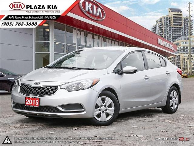 2015 Kia Forte LX (Stk: P449) in Richmond Hill - Image 1 of 27