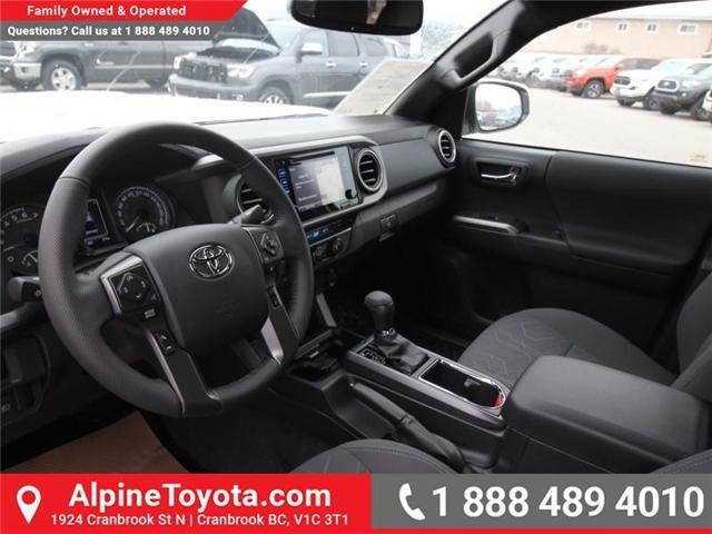 2019 Toyota Tacoma SR5 V6 (Stk: X039142) in Cranbrook - Image 9 of 17