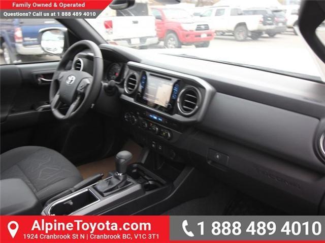 2019 Toyota Tacoma SR5 V6 (Stk: X039142) in Cranbrook - Image 11 of 17