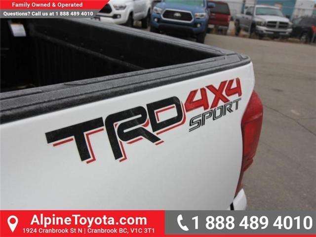 2019 Toyota Tacoma SR5 V6 (Stk: X039142) in Cranbrook - Image 16 of 17