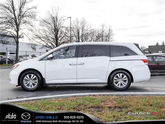 2017 Honda Odyssey EX-L (Stk: 19-0027A) in Mississauga - Image 3 of 19