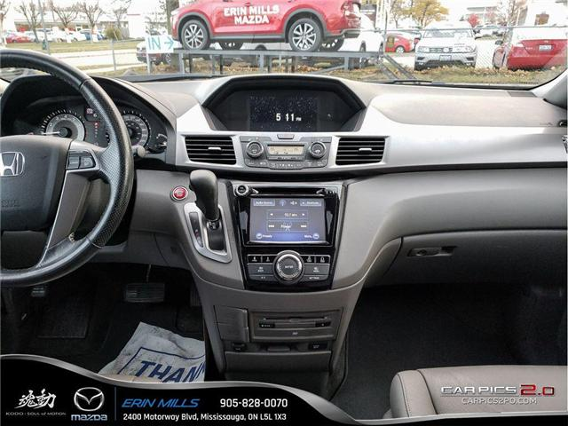 2017 Honda Odyssey EX-L (Stk: 19-0027A) in Mississauga - Image 14 of 19