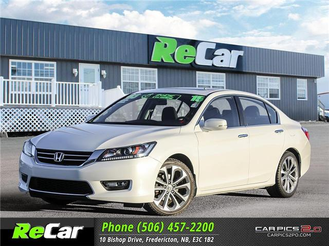2015 Honda Accord Sport (Stk: 181144A) in Fredericton - Image 1 of 28