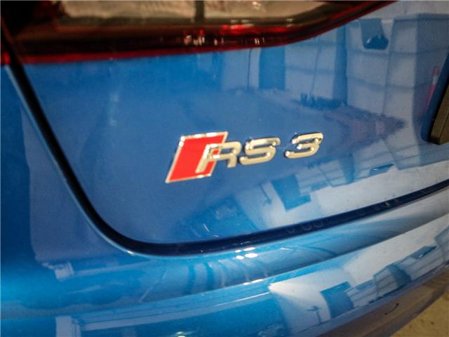 2018 Audi RS 3 2.5T (Stk: P2942) in Toronto - Image 26 of 29