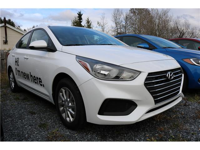 2019 Hyundai Accent Preferred (Stk: 91284) in Saint John - Image 1 of 3