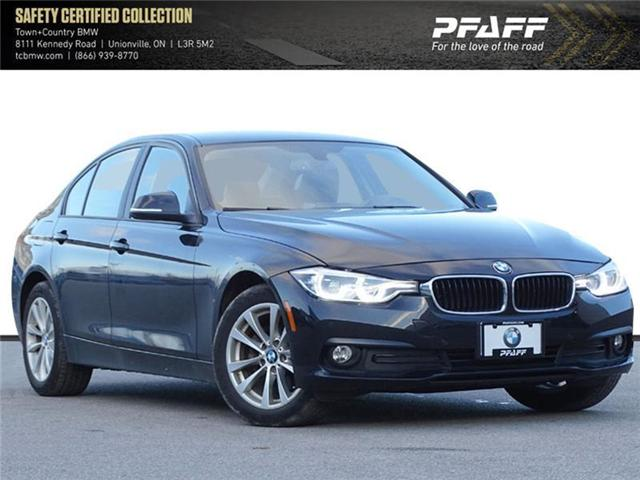 2017 BMW 320i xDrive Sedan (8E57) (Stk: O11434) in Markham - Image 1 of 19