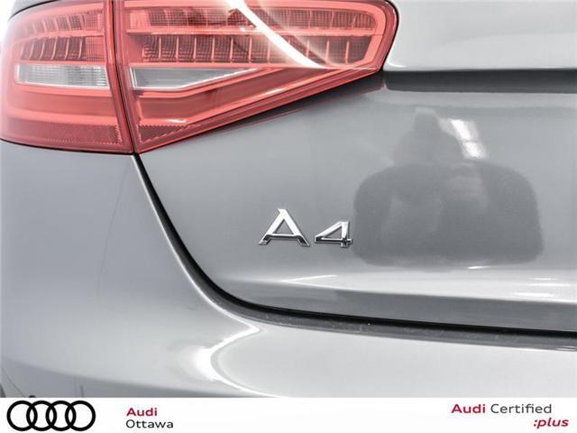 2015 Audi A4 2.0T Progressiv (Stk: 52179A) in Ottawa - Image 8 of 22