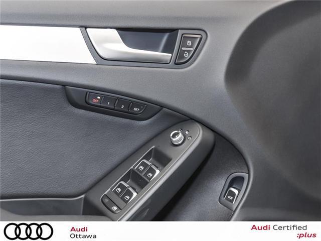 2015 Audi A4 2.0T Progressiv (Stk: 52179A) in Ottawa - Image 13 of 22