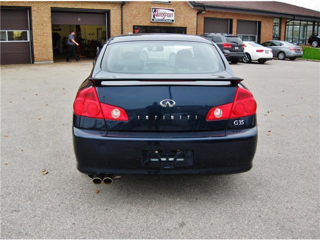 2005 Infiniti G35  (Stk: 1296A) in Orangeville - Image 4 of 12