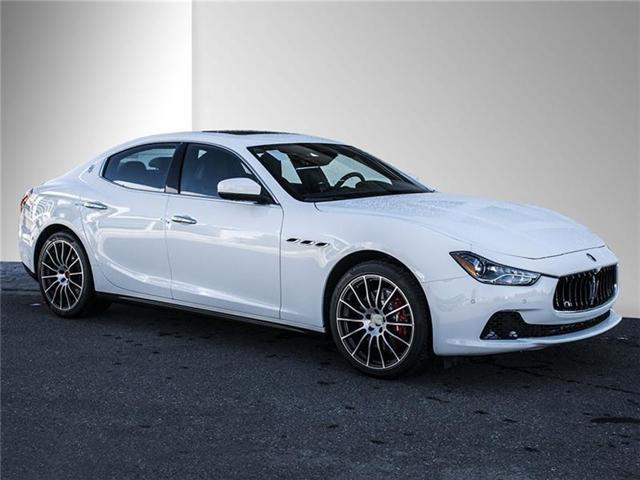 2017 Maserati Ghibli S Q4 For Sale In Calgary Maserati Of Alberta